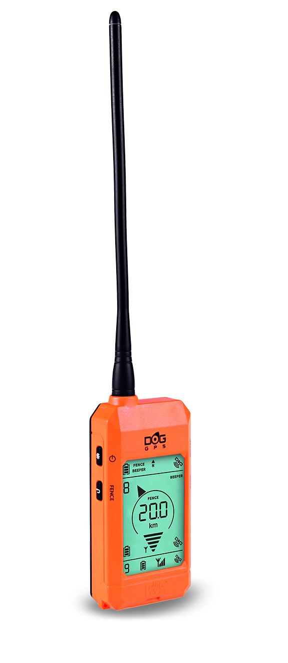 Dogtrace Dog GPS X20 GPS nyomkövető nyakörv orange (1)
