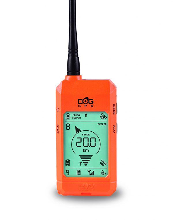 Dogtrace Dog GPS X20 GPS nyomkövető nyakörv orange (4)