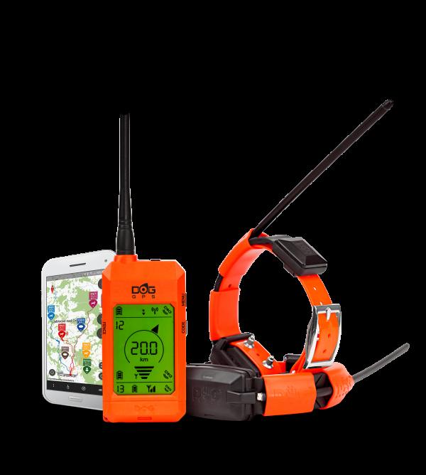 Dogtrace Dog GPS X30 GPS nyomkövető nyakörv orange (1)
