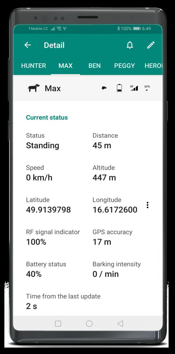 Dogtrace Dog GPS X30 GPS nyomkövető nyakörv orange (3)