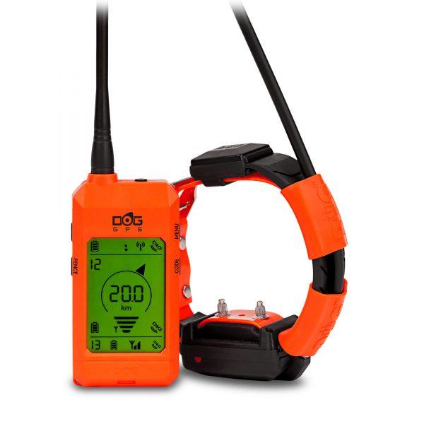 Dogtrace Dog GPS X30 GPS nyomkövető nyakörv orange (4)