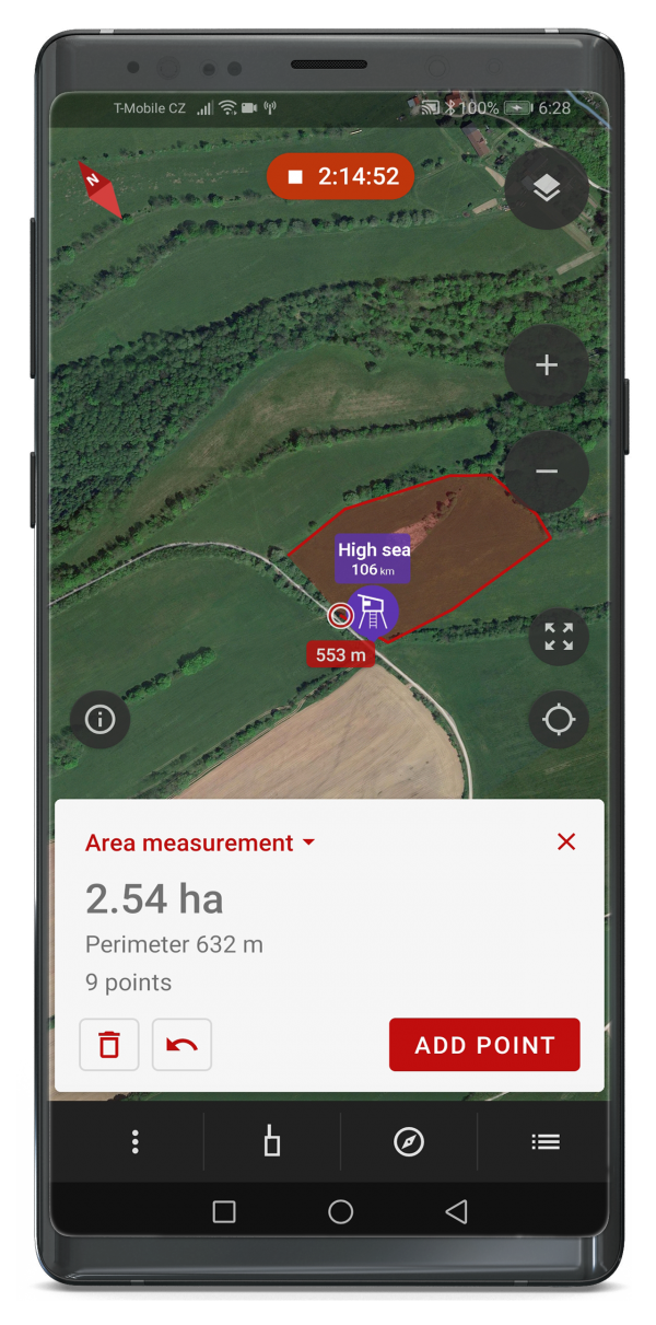 Dogtrace Dog GPS X30 GPS nyomkövető nyakörv orange (6)