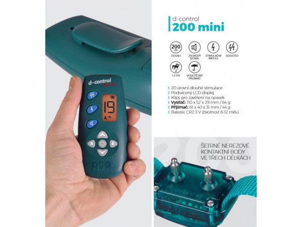 Dogtrace D-control 200 mini elektromos nyakörv1