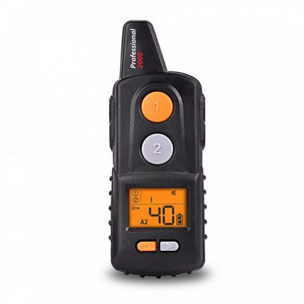 Dogtrace D-control professional 2000 elektromos nyakörv távirányító fekete