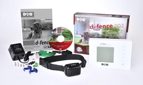 Dogtrace D-fence 202 elektromos láthatatlan kerítés kutyakerítés fehér