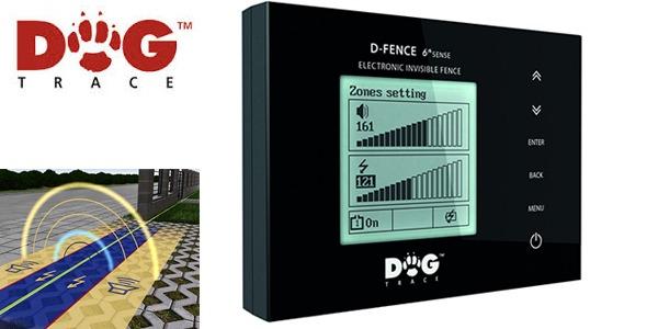 Dogtrace D-fence 202 elektromos láthatatlan kerítés kutyakerítés fekete-3